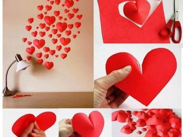 Сделать сердце своими руками фото