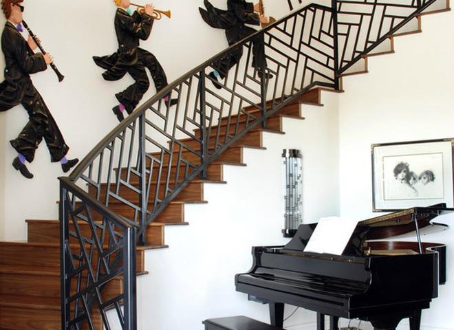 Піаніно і рояль в інтер'єрі
