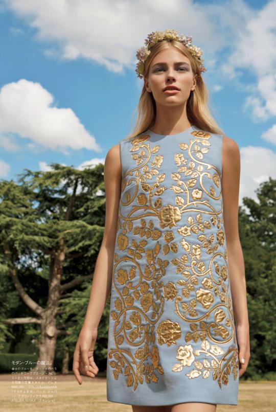 Весільні сукні в Vogue Japan