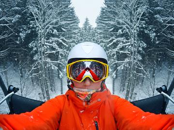 6 трас в Україні для початківців-лижників і сноубордистів