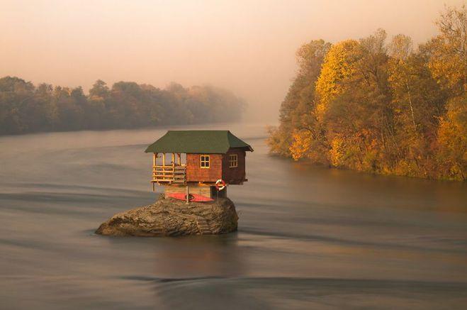 Рай для интроверта: 10 маленьких одиноких домов