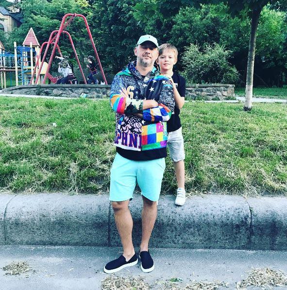 Потап со своим сыном