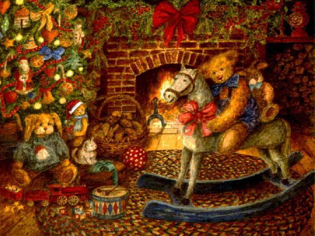 Открытки на Новый год 2012