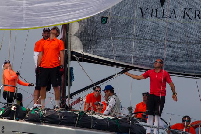 Яхта Villa Krim лідирує в парусній регаті Giraglia Rolex Cup 2018