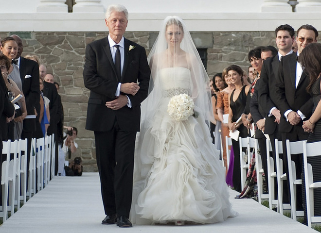 свадьба клинтон