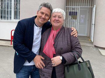 Олександр Педан з мамою Валентиною