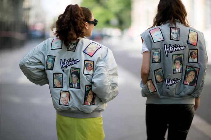 Тренд лета : нашивки на одежде