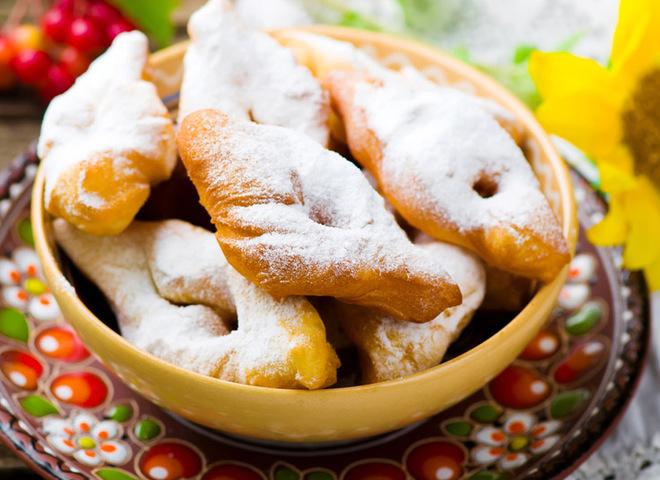 Вергуни: рецепт на кефірі та сметані