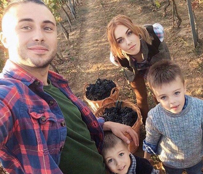 ALYOSHA и Тарас Тополя с сыновьями