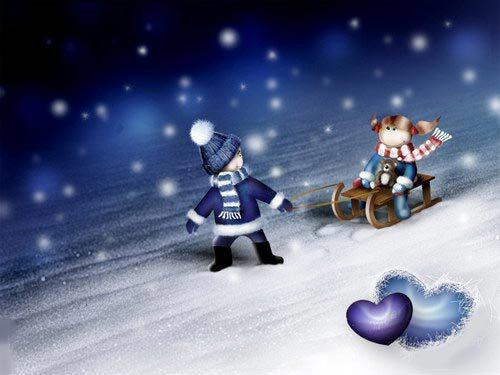 Снежного Старого Нового года!