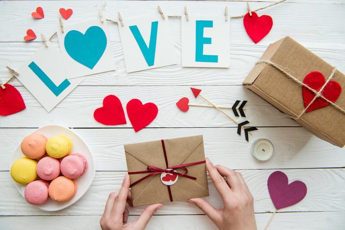 Подарунок своїми руками на День святого Валентина