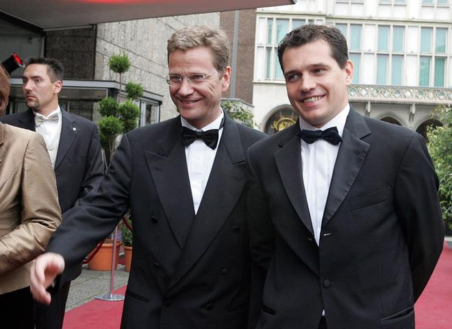Guido Westerwelle; Michael Mronz
