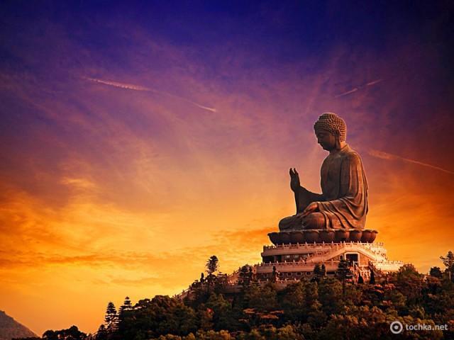 Закаты солнца: Lantau Island, Гон-Конг