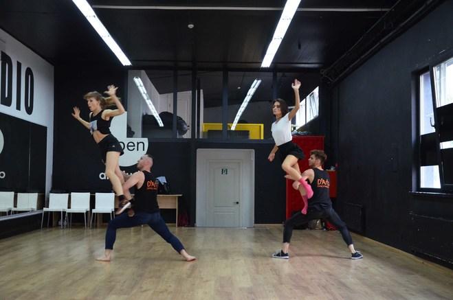 "D'Arts Dance Project показали кадри з репетиції нового шоу ""За зачиненими дверима"""