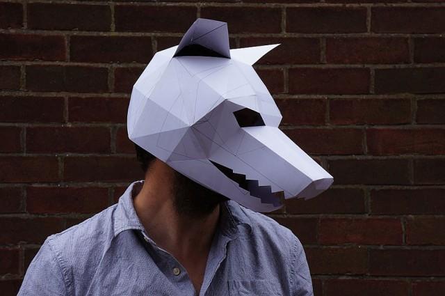 маска для Хэллоуина