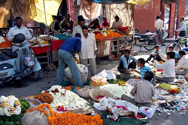 Индийские базары: рынок Джайпура