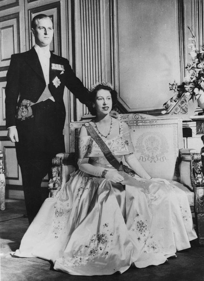 Єлизвета ІІ та принц Філіпп