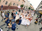 Парад невест в Ужгороде