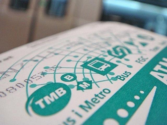 Проездной билет Т-10 Barcelona