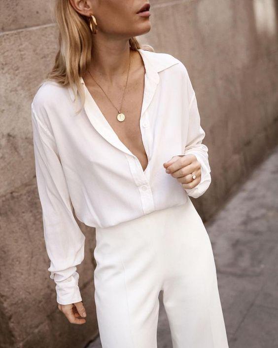 Біла сорочка весна