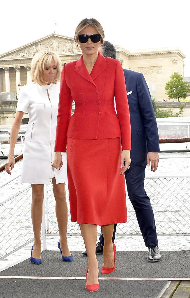 красный- модный оттенок осени