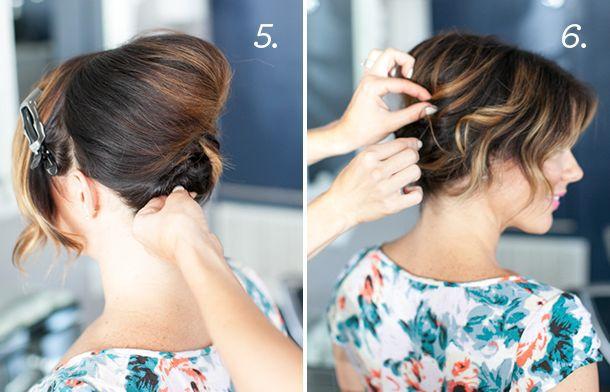 Вишукана зачіска для короткого волосся