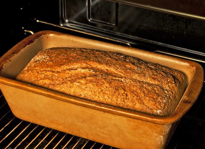 Как сделать домашний хлеб в духовке