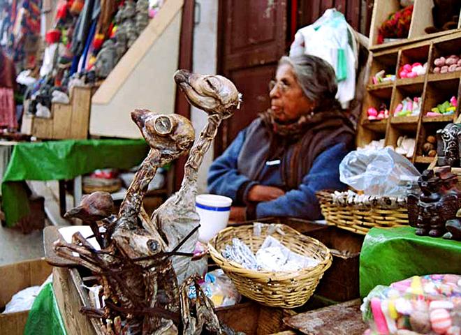 Магазин відьом в Болівії