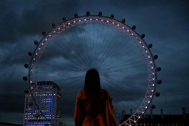 «Британомания»: 5 романтических достопримечательностей страны - Лондонский глаз