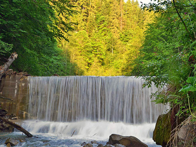фото водопад девичьи косы