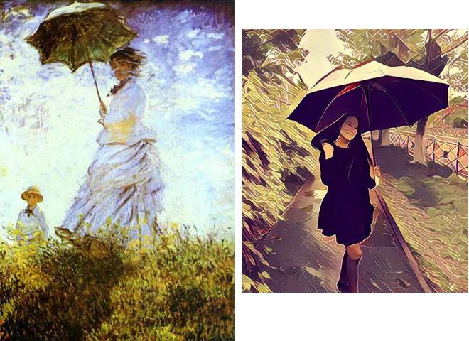 Prisma VS великие художники: найди 7 отличий