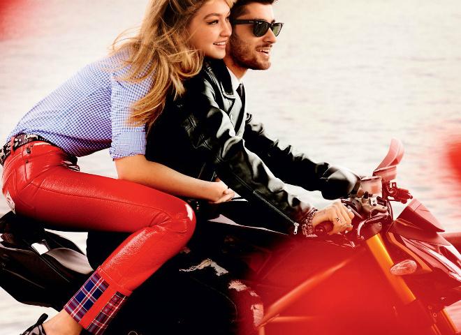 Джіджі Хадід та Зейн Малік для Vogue