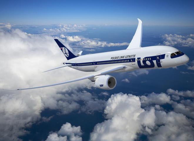Авіакомпанія LOT оголосила про старт розпродажу квитків
