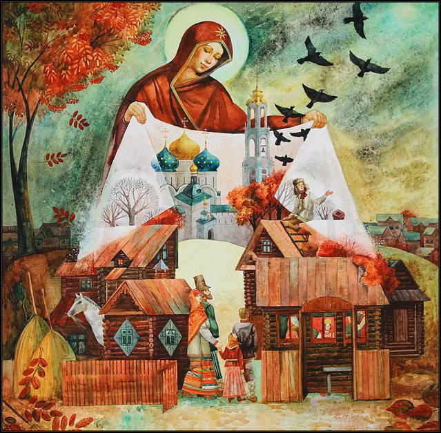Красивые открытки на Покрову