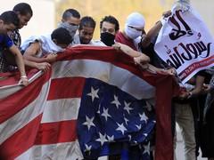 Протесты против США в Каире