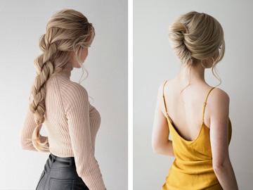 Красиві зачіски на День святого Валентина за 5 хвилин