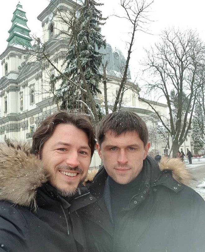 Сергей Притула с братом Василием