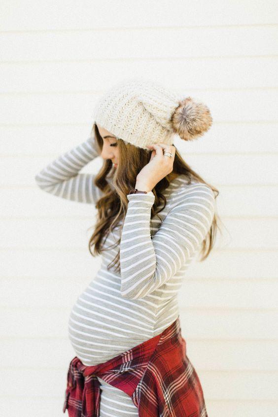 Что носить беременным зимой: модные рекомендации