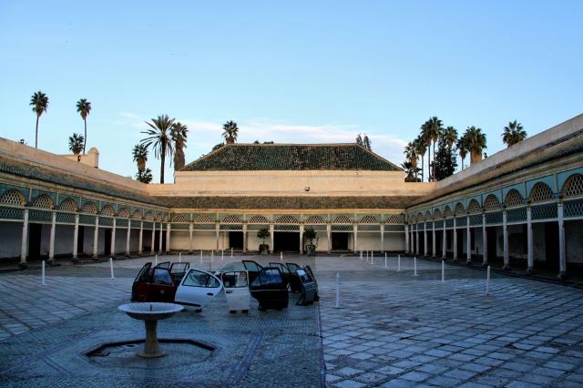 Цікаві місця Марракеша: палац Бахія