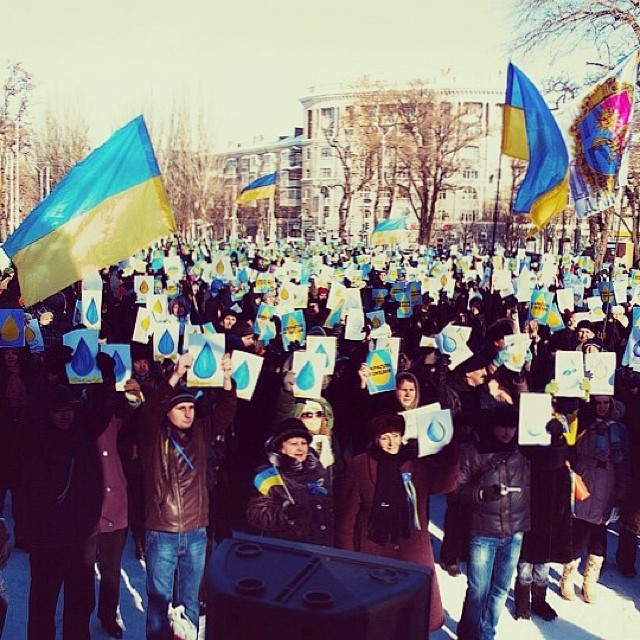 Годовщина Евромайдана: памятные моменты