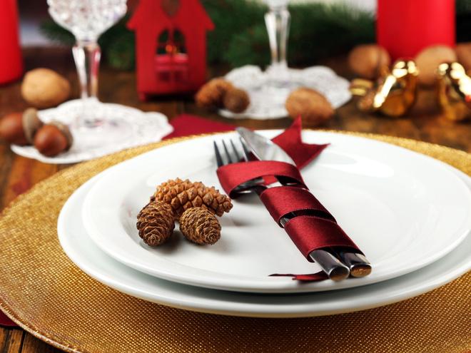 Дизайн Новогоднего стола