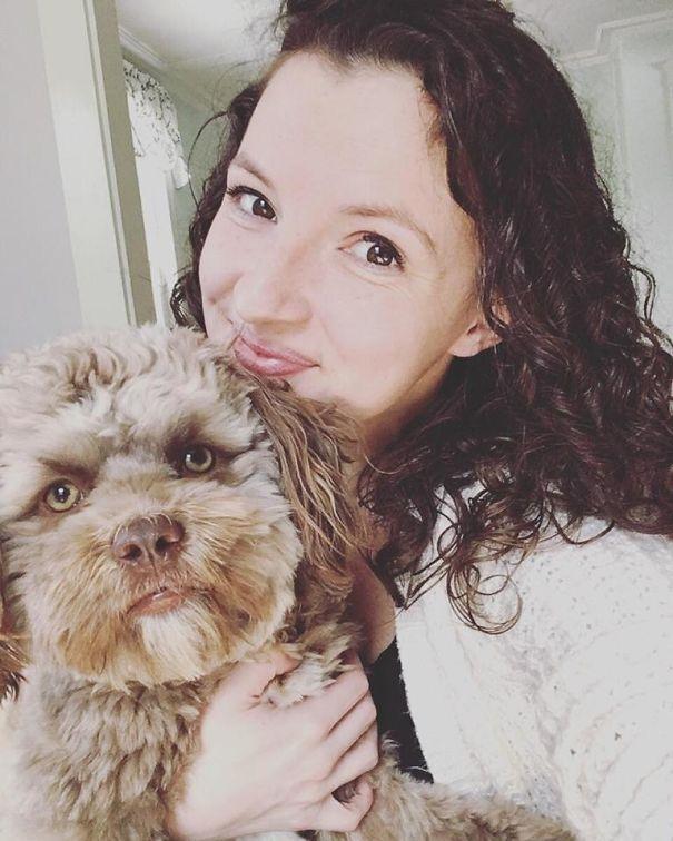 Yogi - Собачка с человеческим лицом