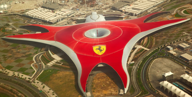 Ferarri World Абу Даби