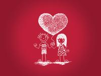 Милые обои на день Св. Валентина