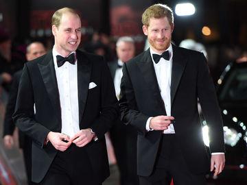 Принц Вільям та принц Гаррі