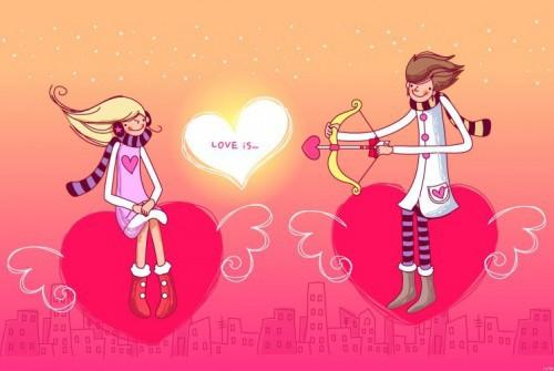 Милые открытки про любовь