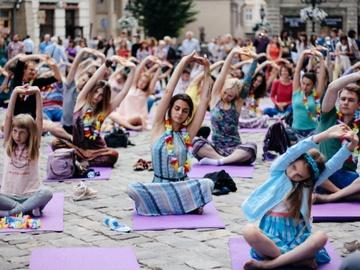Lviv Yoga Day 2018