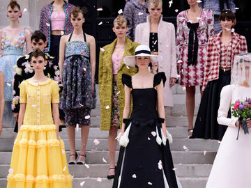 Chanel Haute Couture осень-зима 2021/22