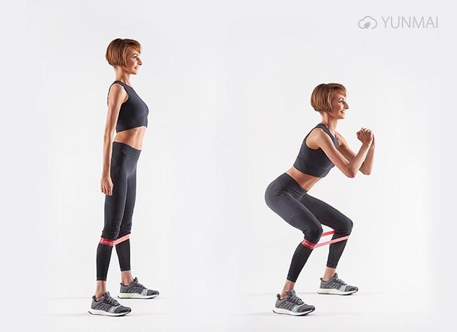 вправи з фітнес-резинкою
