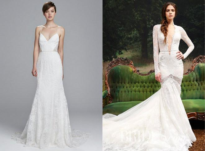 26f30fcefc26e6 Модні тренди весільних суконь весни 2017 року - tochka.net